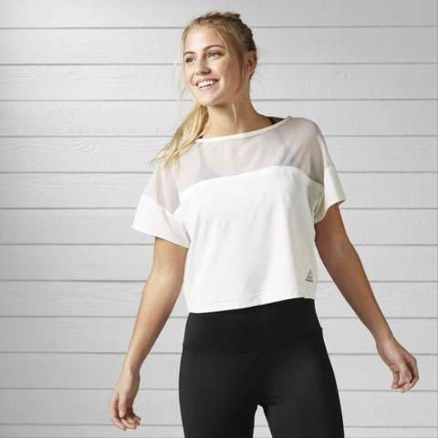 T-shirt Cardio Fashion REEBOK