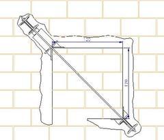 Prova di compressione diagonale su pannello di muratura