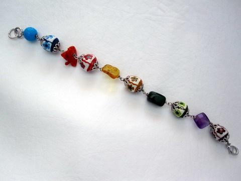 Bracciale artigianale Le MeraBiglie Multicolor