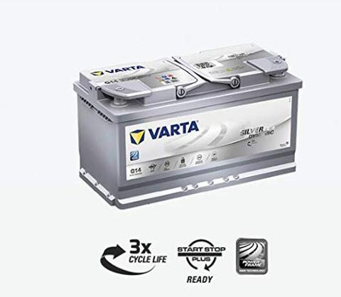 Batteria AGM Start-Stop plus 95AH 850A VARTA