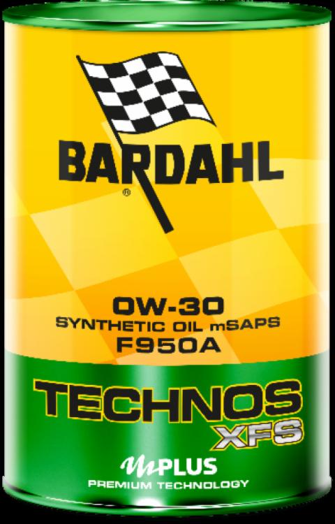 OLIO TECHNOS XFS F950A 0W30 BARDAHL ACEA C2 / FORD WSS-M2C950-A / JLR.03.5007 Fiat 9.55535-GS1 / Fiat 9.55535-DS1