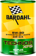 OLIO TECHNOS XFS C2-C3 5W30  BARDAHL API SN-CF / MB 229.52-229.51-229.31 MB 229.52 - 229.51 - 229.31 / BMW LL-04 (N20 perfomance) GM Dexos 2 / RENAULT RN0700-RN0710