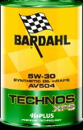 OLIO TECHNOS XFS AV504 5W30 BARDAHL ACEA C3 / API SN / MB 229.51 VW 504.00-507.00 / BMW LL-40 (N20 Performance) / Porsche C30