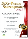 "Premio ""DLG Gold Awards 2012"""