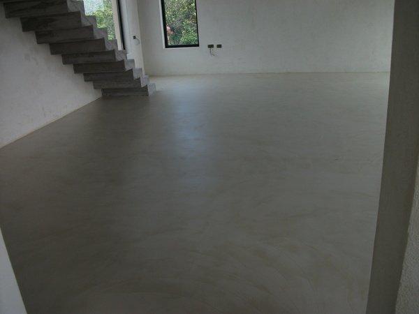 Pavimenti in cemento spatolato a ragusa catania resinartitalia adrano catania - Bagno cemento spatolato ...