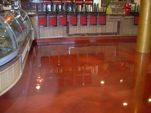 Resin floors, Flooring in resin in Malta and Sicily Italy RESINARTITALIA