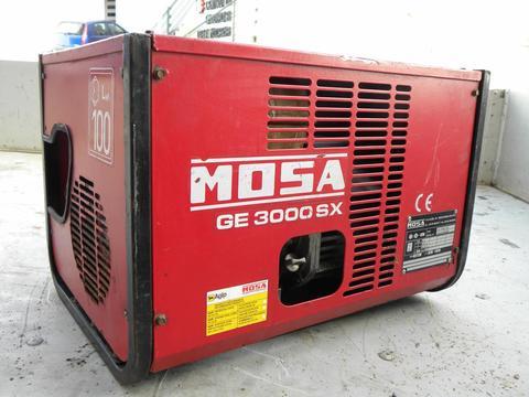 GRUPPO ELETTROGENO  USATO MOSA GE 3000 SX