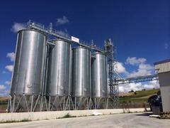 Impianto di stoccaggio cereali