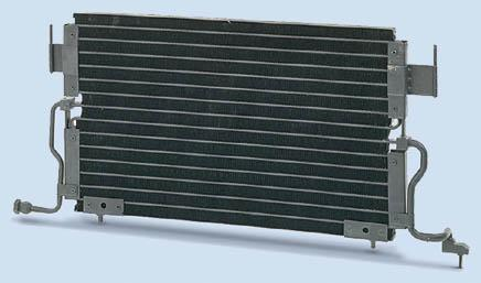 Condensatore CITROEN/PEUGEOT BERLINGO