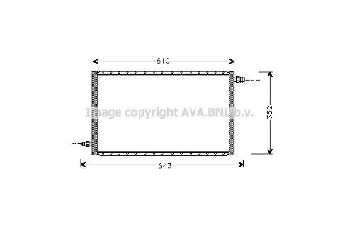Condensatore UNIVERSALE 550x330x16