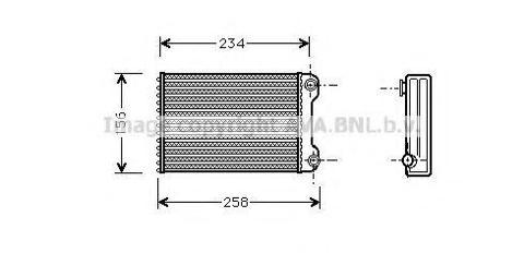 Radiatore di riscaldamento FIAT DOBLO'