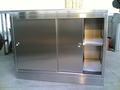 Stainless steel furniture for operating rooms ETNAINOX srl
