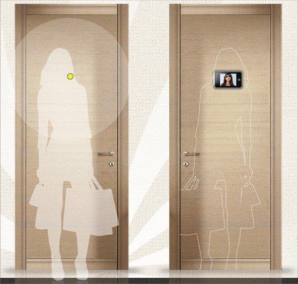Visore digitale o occhiolo magico digitale per porte blindate tropex belpasso - Porte blindate catania ...