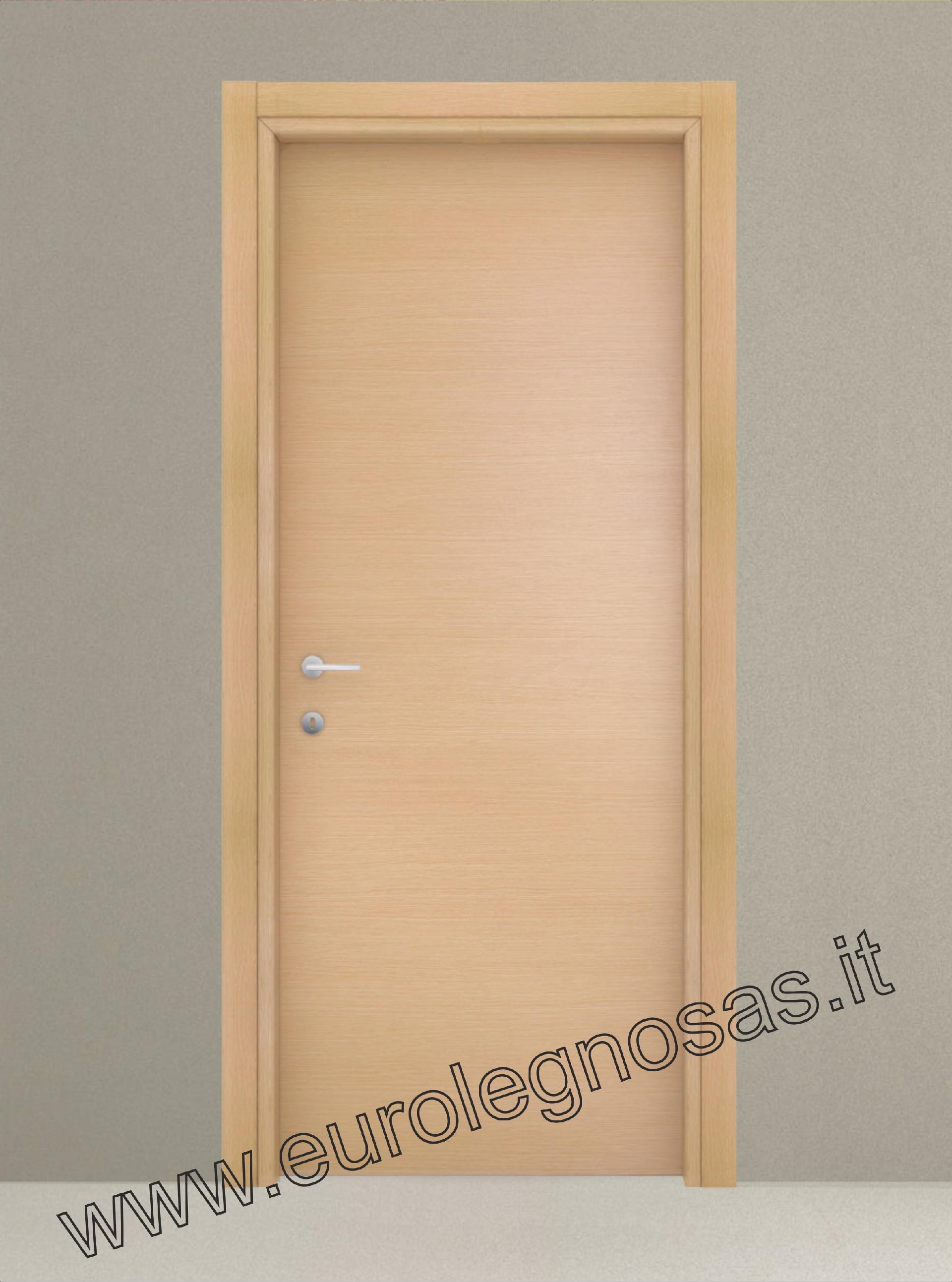 Porte Rovere Sbiancato Spazzolato porta collezione facile in lam bianco, rov. sbiancato e