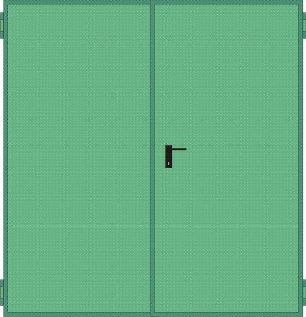 Porte tagliafuoco rei 120 per pareti in cartongesso da 150 for Porte tagliafuoco