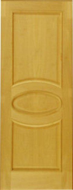 Pannelli porte con ovale. Eurolegno S.a.s. Tanganica grezzo