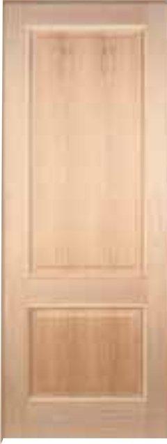 .Pannelli porte con 2 bugne rette Eurolegno S.a.s. Tanganica grezzo