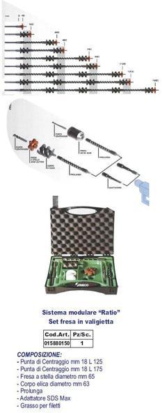 Sistema modulare INECO Ratio