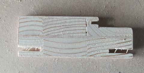 Stipiti piatti e bombati per porte 110x2170x40 batt 32/49 impiallacciati in varie essenze di legno Porte Eurolegno Stipiti piatti e bombati per porte 110x2170x40