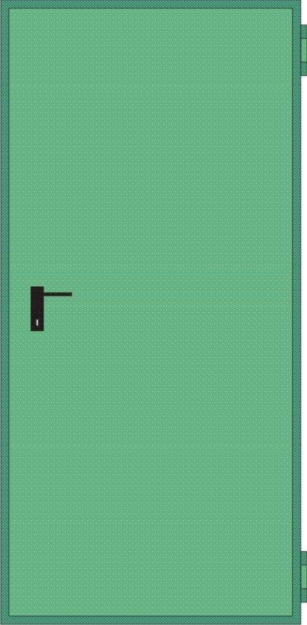 Porte Tagliafuoco Rei 120 mod. UNIVER anta singola in pronta consegna NINZ  UNIVER