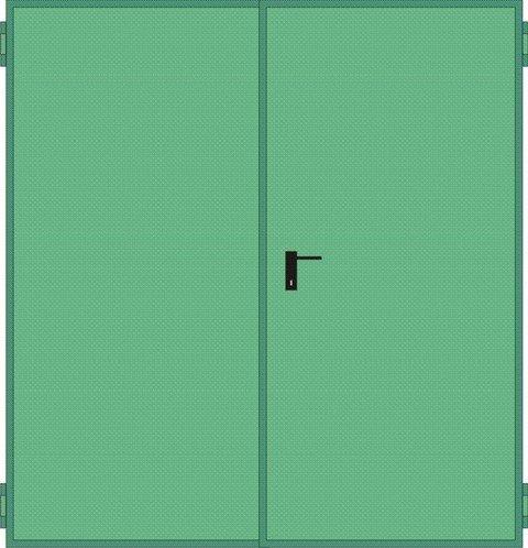 Porte Tagliafuoco REI 120 Mod. UNIVER anta doppia in pronta consegna NINZ UNIVER