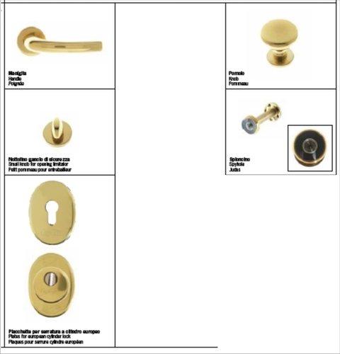Kit Maniglieria e accessori per porte Blindo Europa o Top special FERWALL BLINDO EUROPA E TOP SPECIAL