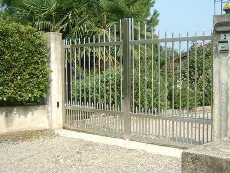 Cancelli In Acciaio Inox.Cancello A Battente In Acciaio Inox Alcamo Trapani Guida Sicilia