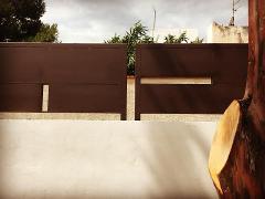 Lavorazione balconi, parapetti e corrimano in ferro
