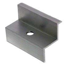 Ganasce a Z in alluminio per fissaggio laterale per pannelli fotovoltaici
