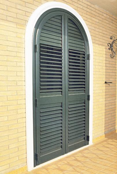 Porta  persiana in alluminio