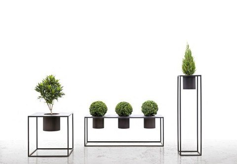 FIORIERA IN FERRO ZINCATO - PLANTER GALVANISED IRON