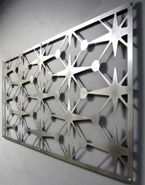 Taglio getto d'acqua materiali metallici :Acciaio inox, Acciai legati e per stampi, Ferro, Alluminio
