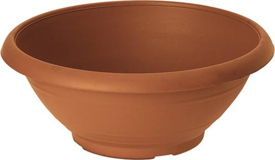 Ciotola campana in plastica color terracotta san michele for Vasi in terracotta prezzi