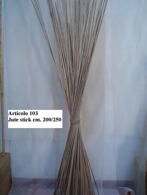 Jute steck naturali secchi h 200 san michele di ganzaria - Rami secchi decorativi dove comprarli ...