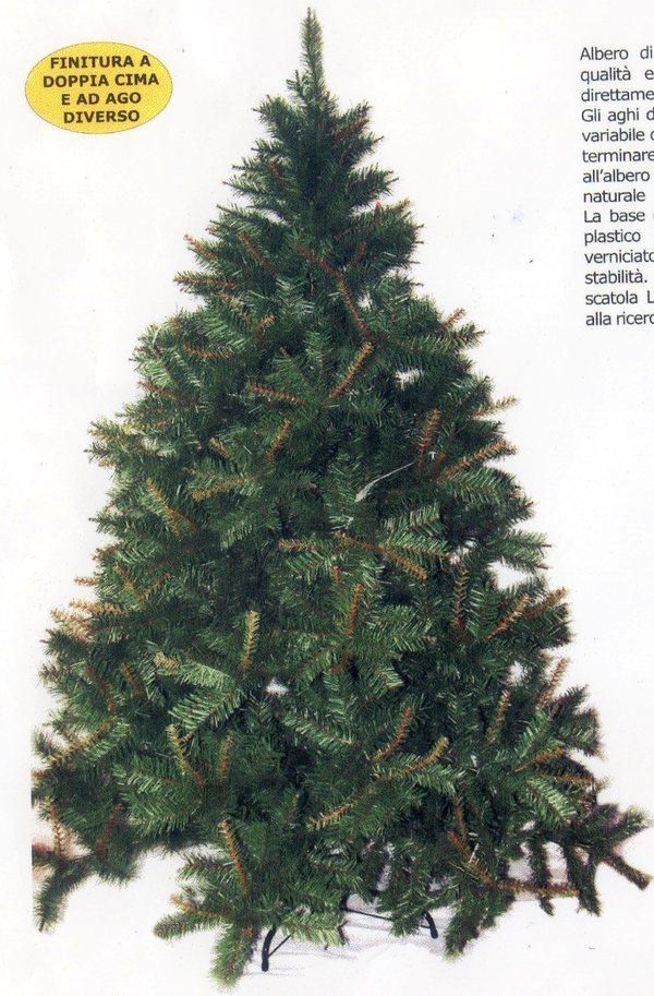 Albero di natale h 210 ecologico artificiale nature for Alberi natale artificiali