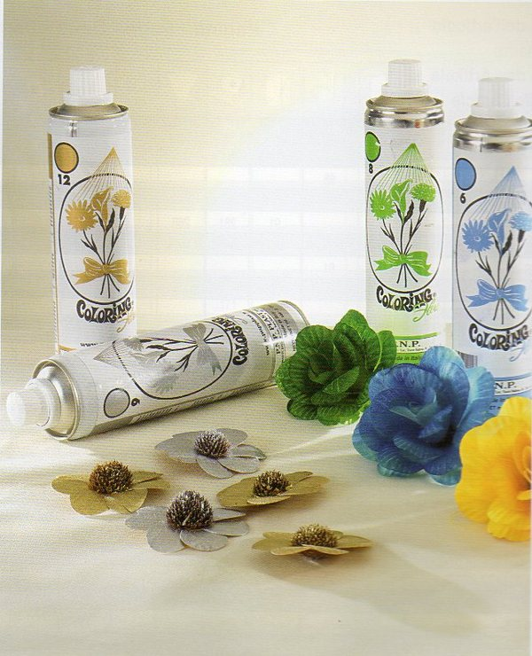 Colorante spray per fiori freschi da ml.400.