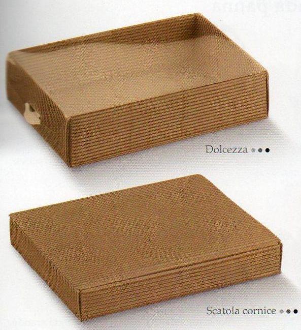 Scatole per bomboniera onda avana 3 modelli in confezioni - Scatole per trasloco ikea ...