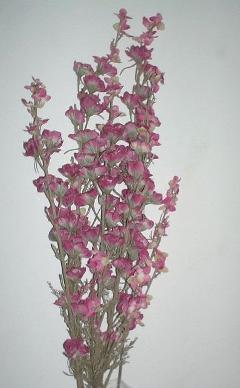 Delfinium x 2 Arredo artificiale in poliestere per fioristi e wedding