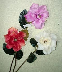 Magnolia japonika x 1 artificiale in poliestere - Sconti per Fioristi e Aziende