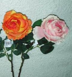Rosa Cabbage  Artificiale in poliestere per fioristi e wedding