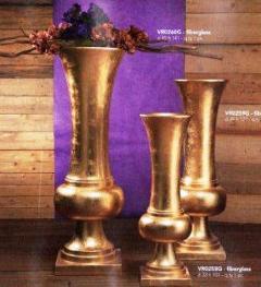 Vaso kiev oro con base H101 - H121 - H141