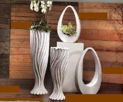 Vaso Ovale Maxi H 75 e H 90 in fiberglass
