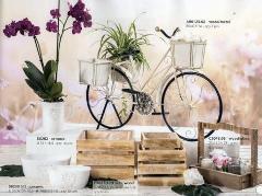 Bicicletta H 56 Lunga cm.85 x 40 in legno e metallo
