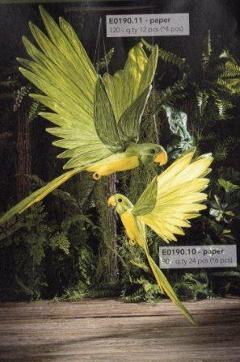 Pappagalli da appendere H 120 e H 90 in carta