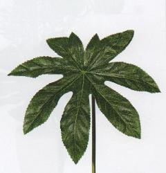 foglia di aralia artificiale cm. 30