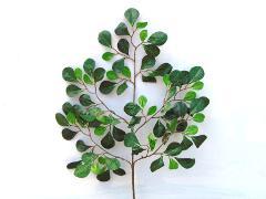 Pitosforo Artificiale x 5 ramo 90 foglie H 63