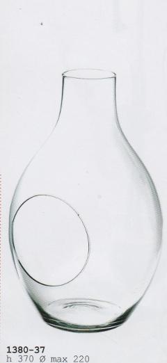 Ampolla Vetro da Appendere H 37 dm.22 con cordino