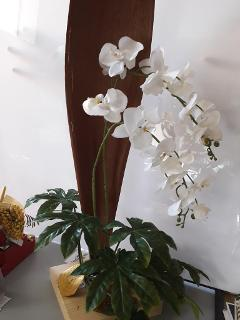 Orchidea Falenopsis H 90 artificiale per Fioristi, Wedding