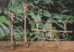 Portacandele metal Hold Country per fioristi e wedding