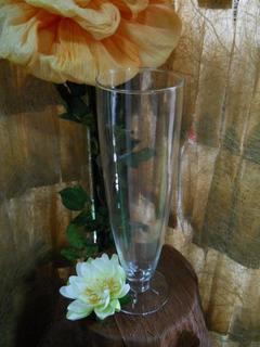 Vaso in vetro  H 43 dm. 13 -  Mod. Cosenza